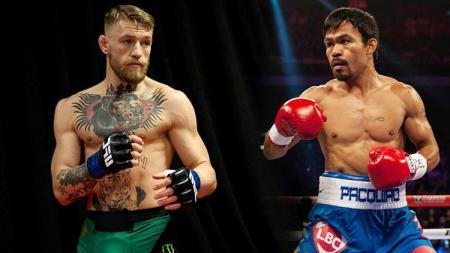 Manny Pacquiao dan Conor McGregor. - INDOSPORT