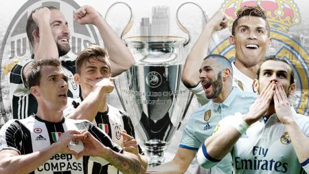 Juventus vs Real Madrid. - INDOSPORT