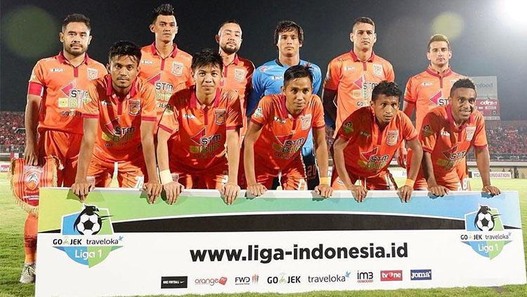 Skuat Borneo FC. Copyright: Instagram @borneofc.id