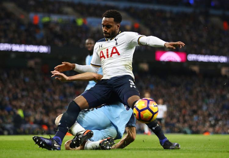 Bek sayap Tottenham Hotspur, Danny Rose. Copyright: Clive Mason/Getty Images