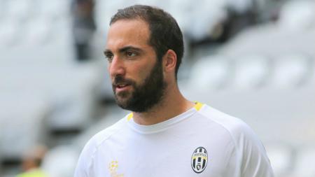 Striker andalan Juventus, Gonzalo Higuain. - INDOSPORT