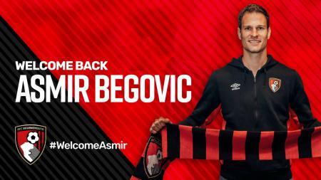 Asmir Begovic resmi menjadi pemain Bournemouth. - INDOSPORT