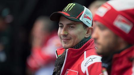 Pembalap andalan Ducati, Jorge Lorenzo. - INDOSPORT