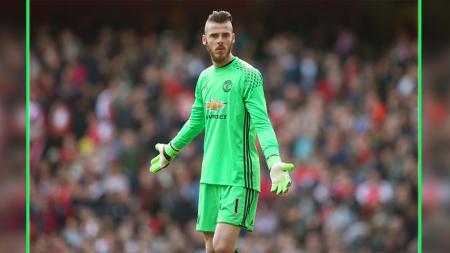 Posisi David De Gea bisa terancam di bawah mistar gawang Manchester United. - INDOSPORT