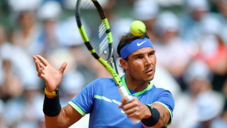 Rafael Nadal lolos ke perempatfinal Prancis Terbuka 2017. - INDOSPORT