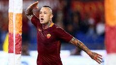 Indosport - Gelandang serang AS Roma, Radja Nainggolan.