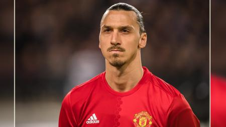 Zlatan Ibrahimovic, mantan striker Man United. - INDOSPORT