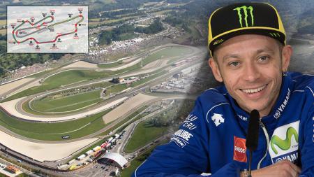 Valentino Rossi (Sirkuit Mugello) - INDOSPORT