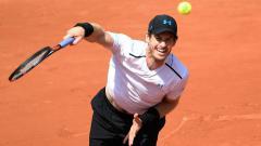 Indosport - Andy Murray melaju ke babak tiga Prancis Terbuka.