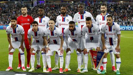 Skuat Lyon 2016/17. - INDOSPORT