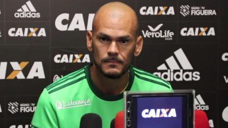 Kiper Figueirense, Fabio. - INDOSPORT