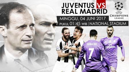 Prediksi Juventus vs Real Madrid. - INDOSPORT