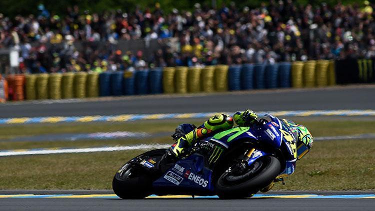 Pembalap andalan Yamaha, Valentino Rossi. Copyright: Getty Images