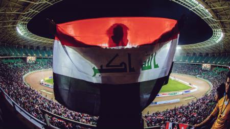 Timnas Irak bisa bermain di kandang, Basra Stadium untuk pertama kalinya setelah 4 tahun. - INDOSPORT