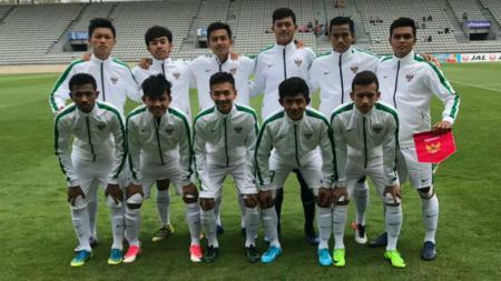 Timnas Indonesia U-19 di Toulon 2017. - INDOSPORT