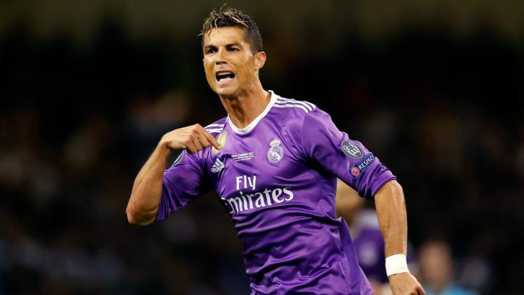 Cristiano Ronaldo Copyright: Twitter/@ChampionsLeague