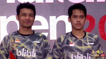 Memutuskan mundur dari skuat Pelatnas di tahun 2020, pasangan ganda putra Indonesia ini ternyata pernah berprestasi di Malaysia Masters. - INDOSPORT