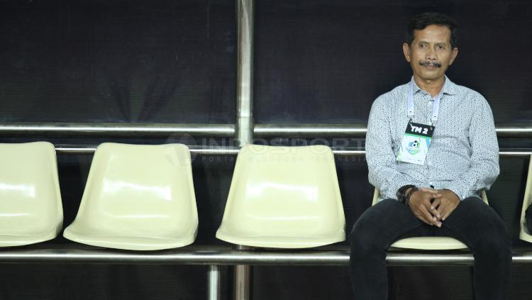 Pelatih Persib Bandung, Djajang Nurdjaman. Copyright: INDOSPORT/Herry Ibrahim