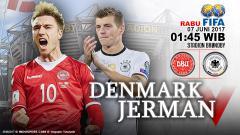Indosport - Prediksi Denmark vs Jerman.