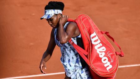 Venus Williams tersingkir di babak keempat Prancis Terbuka 2017. - INDOSPORT