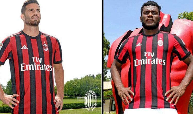 Mateo Musacchio dan Franck Kessie, dua pemain anyar AC Milan. Copyright: Twitter Milan/INDOSPORT