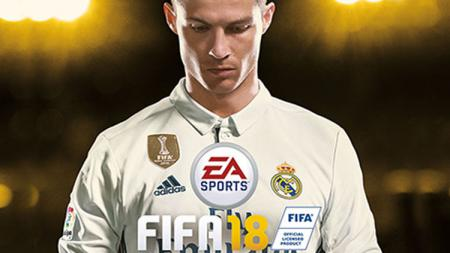 Cristiano Ronaldo FIFA 18. - INDOSPORT