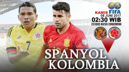 Prediksi Spanyol vs Kolombia. - INDOSPORT