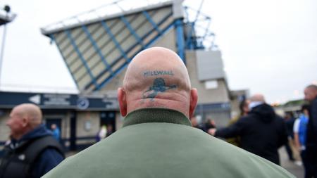 Suporter Millwall. - INDOSPORT