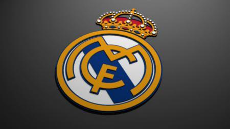Logo Real Madrid. - INDOSPORT