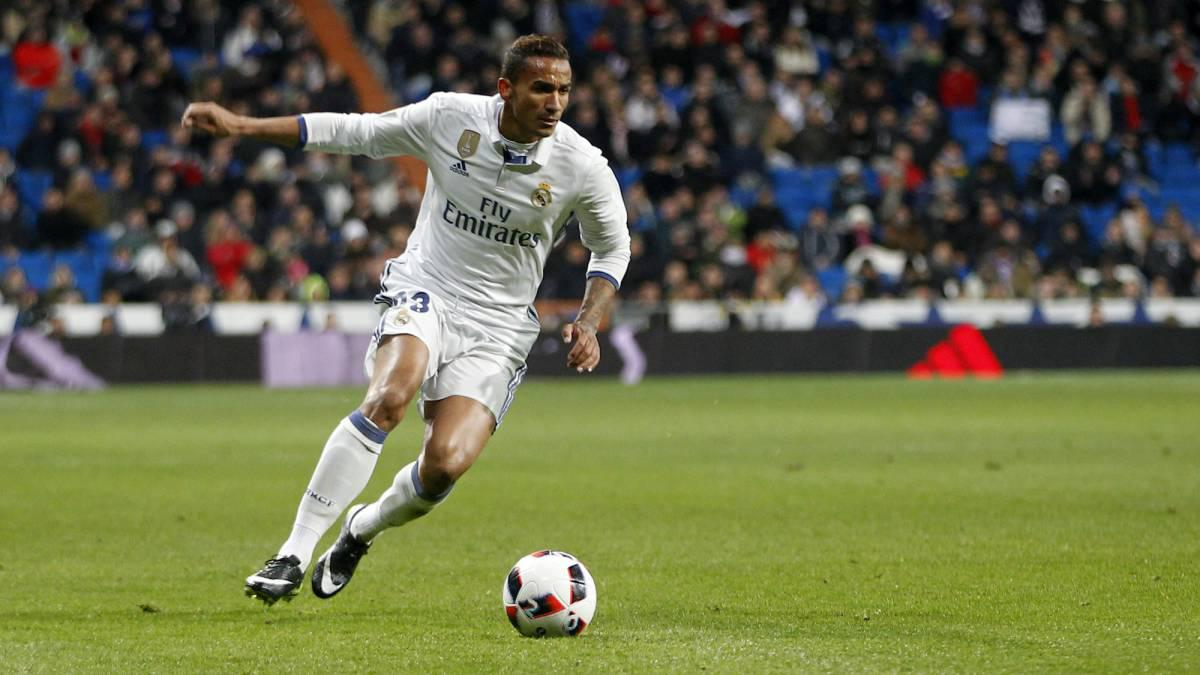 Danilo, bek kanan Real Madrid. Copyright: AS