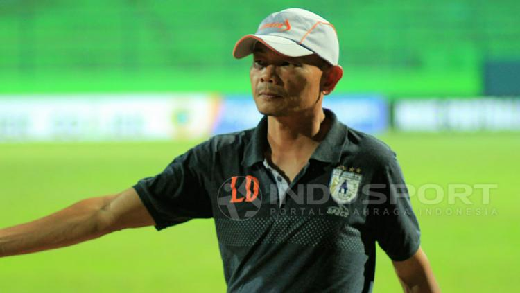 Pelatih Persipura Jayapura, Liestiadi Copyright: Ian Setiawan/Indosport
