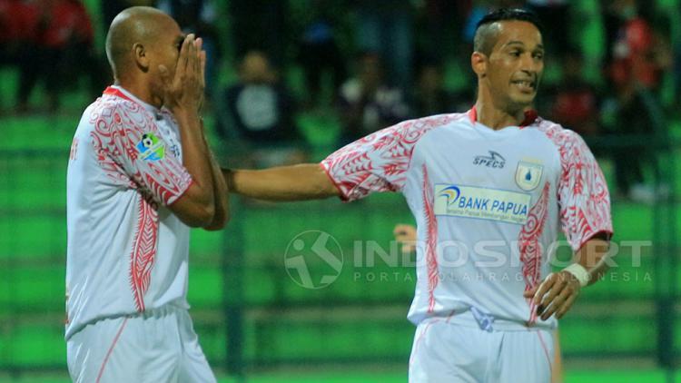 Pemain Persipura Jayapura Copyright: Ian Setiawan/Indosport