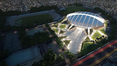 Velodrome Rawamangun, Jakarta Timur yang akan menjadi salah satu venue Asian Games 2018. - INDOSPORT