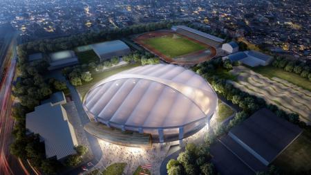 Jakarta Internasional Velodrome (VIJ), Rawamangun, Jakarta Timur. - INDOSPORT