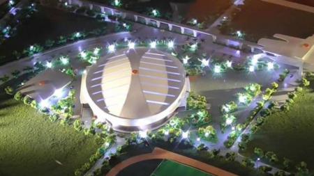 Rencana Velodrome Rawamangun. - INDOSPORT