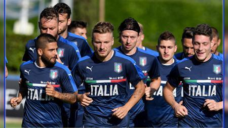 Ciro Immobile bocorkan taktik yang buat Timnas Italia sukses bantai Turki di laga grup pertama Euro 2020. - INDOSPORT