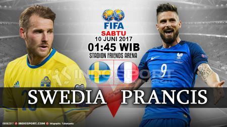 Prediksi Swedia vs Prancis - INDOSPORT