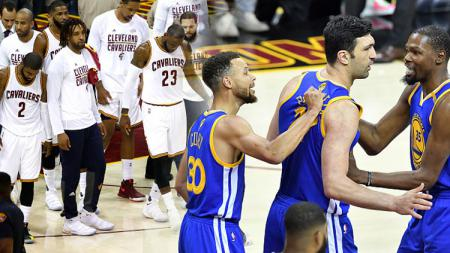 Cleveland Cavaliers vs Golden State Warriors. - INDOSPORT