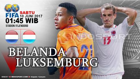 Prediksi Belanda vs Luxembourg. - INDOSPORT