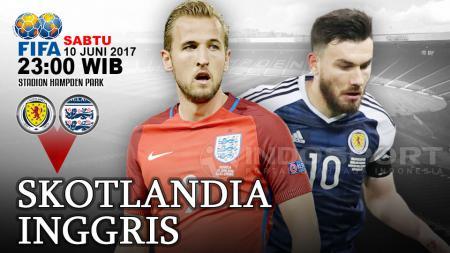 Prediksi Skotlandia vs Inggris. - INDOSPORT