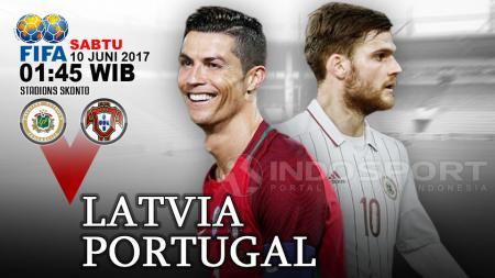 Prediksi Latvia vs Portugal. - INDOSPORT