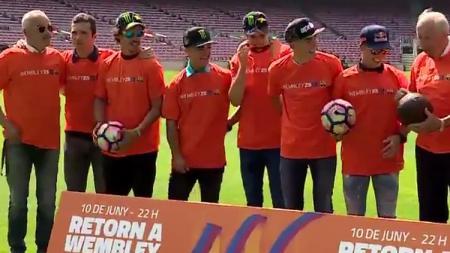 Bintang MotoGP mengunjungi Camp Nou - INDOSPORT