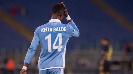 Pemain andalan Lazio, Keita Balde. - INDOSPORT