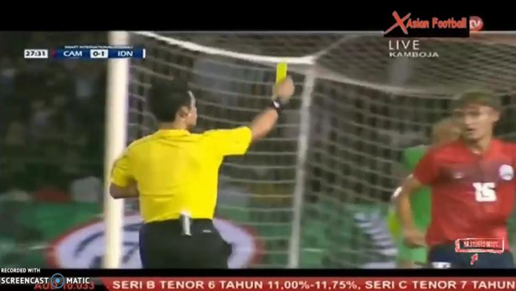 Timnas Indonesia vs Kamboja Copyright: YouTube