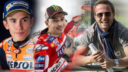 Marquez, Lorenzo, dan Gibernau. - INDOSPORT