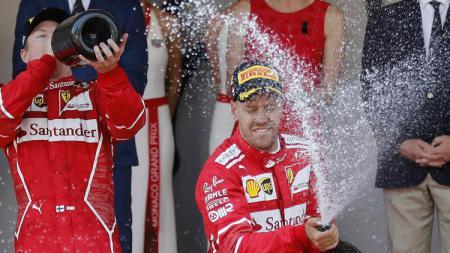 Pembalap Formula 1 (F1), Sebastian Vettel, dan Ferrari memang sudah tidak punya masa depan bersama. - INDOSPORT