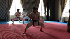 Indosport - Pelatnas karate SEA Games.