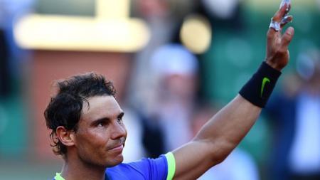 Rafael Nadal dikalahkan Nick Kyrgios di babak 16 besar Meksiko Terbuka di Acapulco. - INDOSPORT