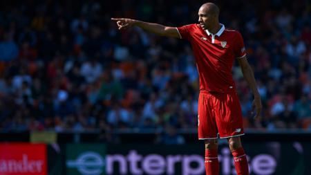 Steven N'Zonzi, gelandang bertahan Sevilla. - INDOSPORT