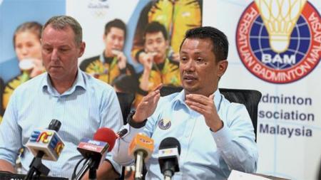 Badminton Association of Malaysia (BAM), Presiden Datuk Seri Norza Zakaria. - INDOSPORT